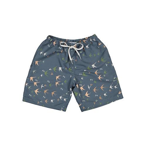 Boys Swim Blue Shorts
