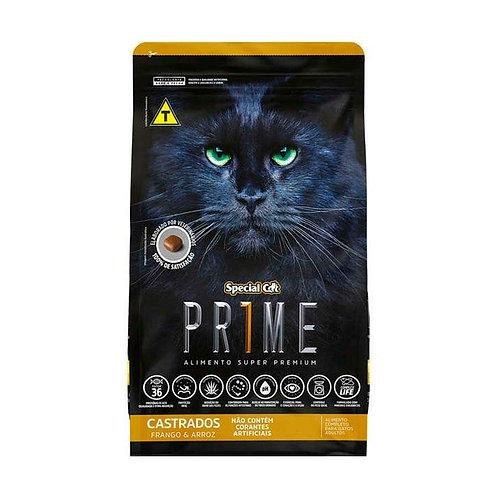 Ração Special Cat Prime para Gatos Castrados Sabor Frango e Arroz - 10 kg