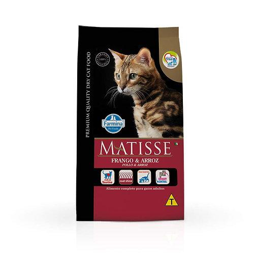 Ração Farmina Matisse para Gatos Adultos Sabor Frango e Arroz