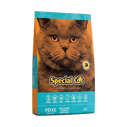 Ração Premium Special Cat para Gatos Adultos Sabor Peixe - 10kg
