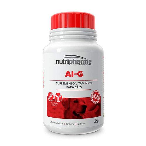 Suplemento Vitamínico para Cães Nutripharme AI-G 30 comprimidos