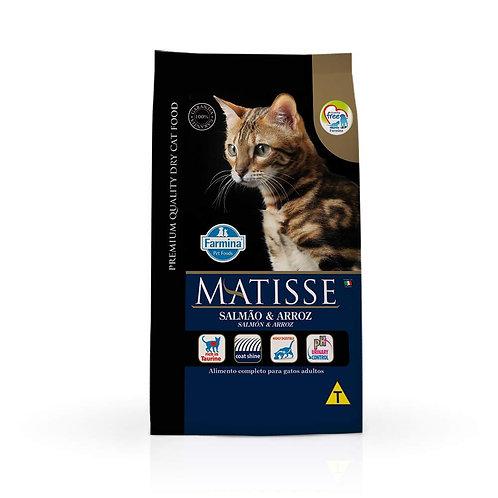 Ração Farmina Matisse para Gatos Adultos Sabor Salmão e Arroz