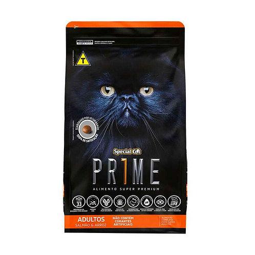Ração Special Cat Prime Salmão e Arroz para Gatos Adultos - 10 kg