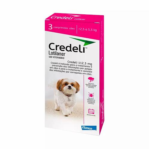 Antipulgas Credeli Elanco para Cães 2,5 a 5,5kg