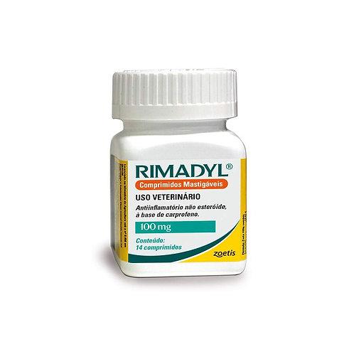 Rimadyl Zoetis 100mg 14 Comprimidos