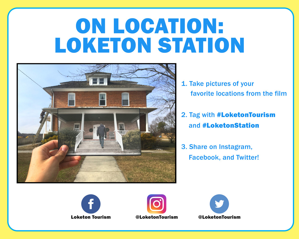 Share photos of your favorite locations on social media!