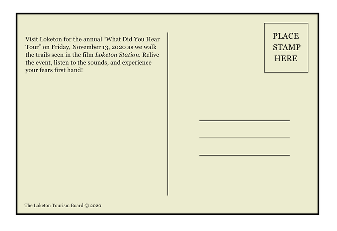 Back of all postcards