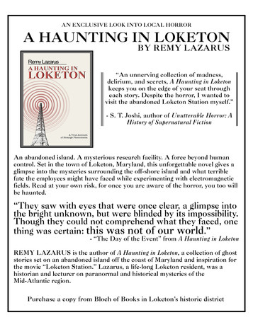 """Information on the book """"A Haunting in Loketon"""" by Remy Lazarus"""