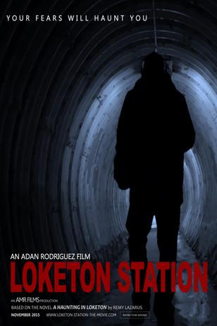 """""""Loketon Station"""" movie poster"""