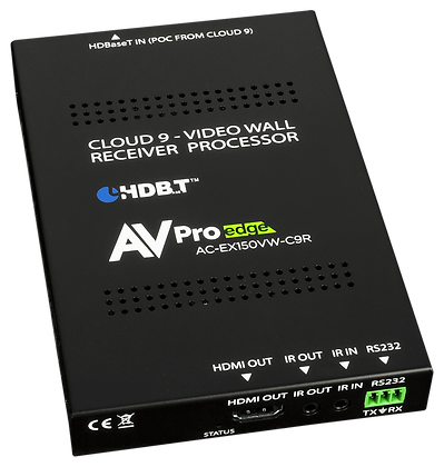 150M HDBaseT Video Wall Receiver for Cloud 9 Matrix