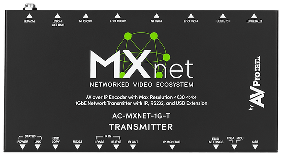 MXNet 1G Encoder