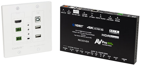 40 Meter HDMI/USB Extender Wall Plate Kit