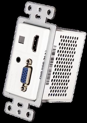 VGA/HDMI Wall Plate Transmitter via HDBaseT