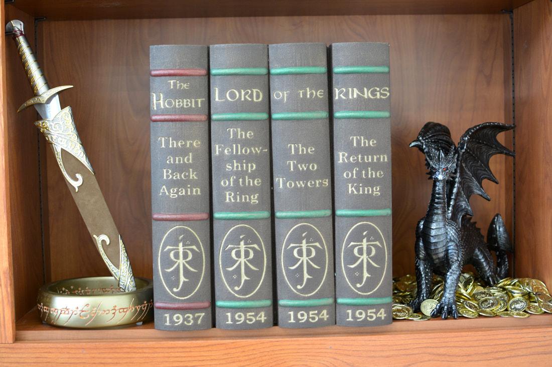 AMClad® LOTR Book Spines