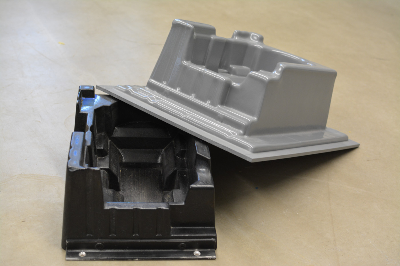 Vacuum Forming Tool and Finished Part