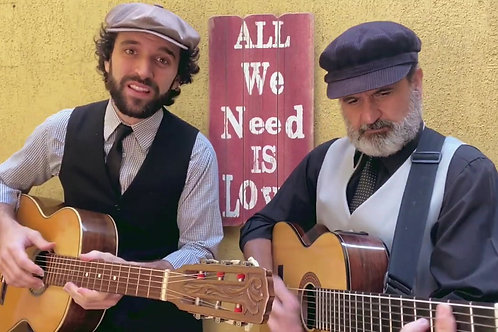 Serenata Beatles Gravação (Formato Vídeo)