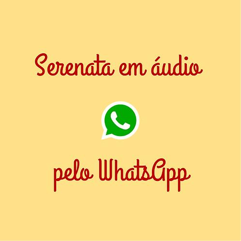 Serenata WhatsApp (Gravação de áudio)