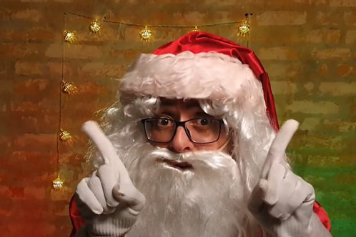 Papai Noel Digital Gravação (Formato Vídeo)