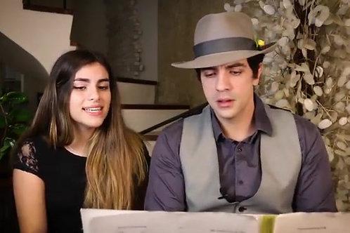 Dueto Piano Gravação (Formato Vídeo)