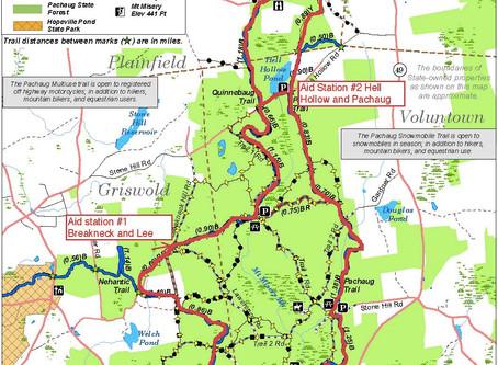 The Pachaug Trail Runs
