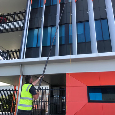 Exterior Building Washing Gold Coast