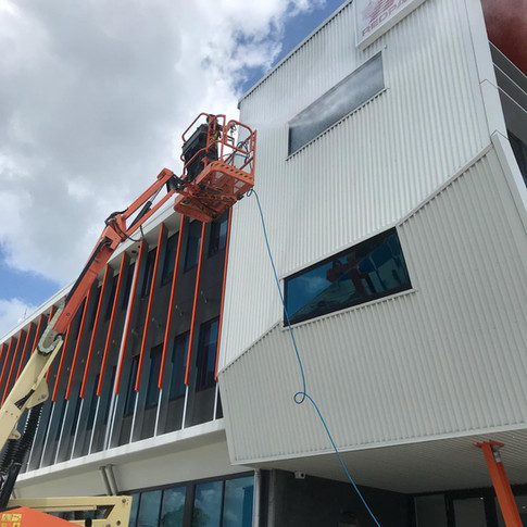 Exterior Building Washing Gold Coast