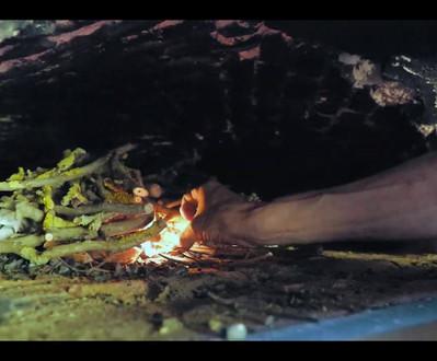 Een traditionele houtbroodoven in Merksplas