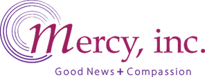 The logo of Mercy Inc charity