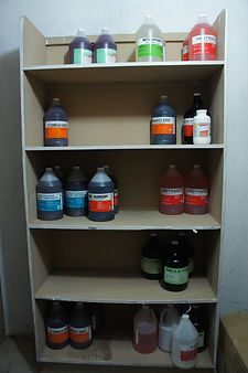 The pharmacy at Bethesda Medical Center in Haiti