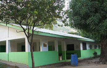 HIV AIDS building at Bethesda Medical Center in Haiti