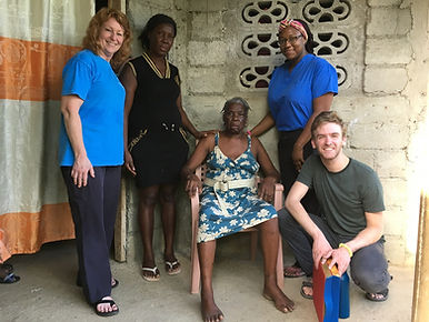 Volunteer physical therapists at Bethesda Medical Center, Haiti