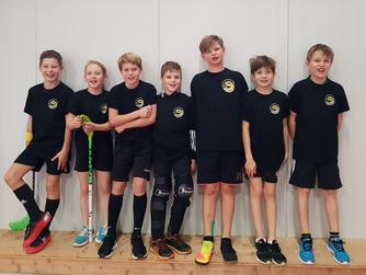 Die SHC BW-Junioren beweisen, dass sie auch im Unihockey stark sind.