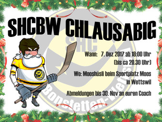 Save the date: SHC BW-Chlausabig