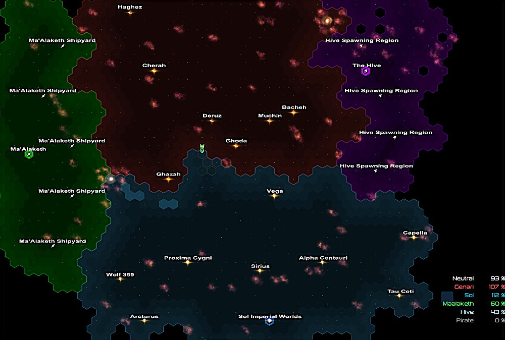 Each hex is an individually hand-crafted battle map