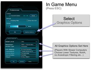 Advanced Graphics Option Menu!