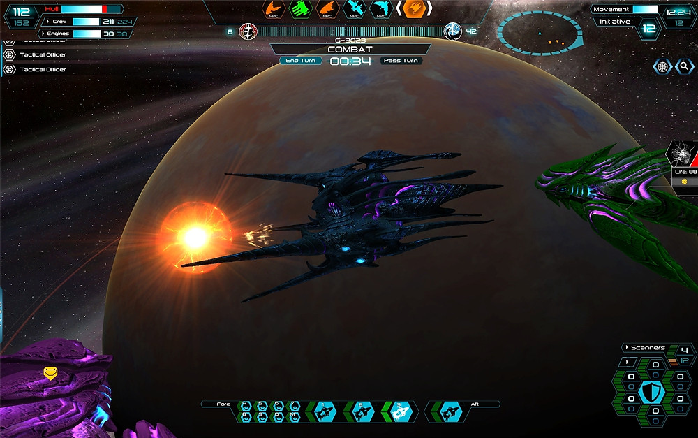 Hive Bombardier launching a plasma attack