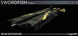 Sol Swordfish V