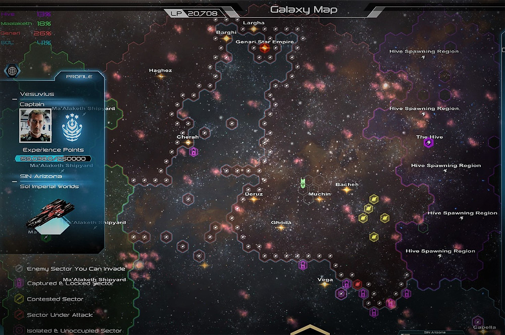 Genari's Home Star System Surrounded