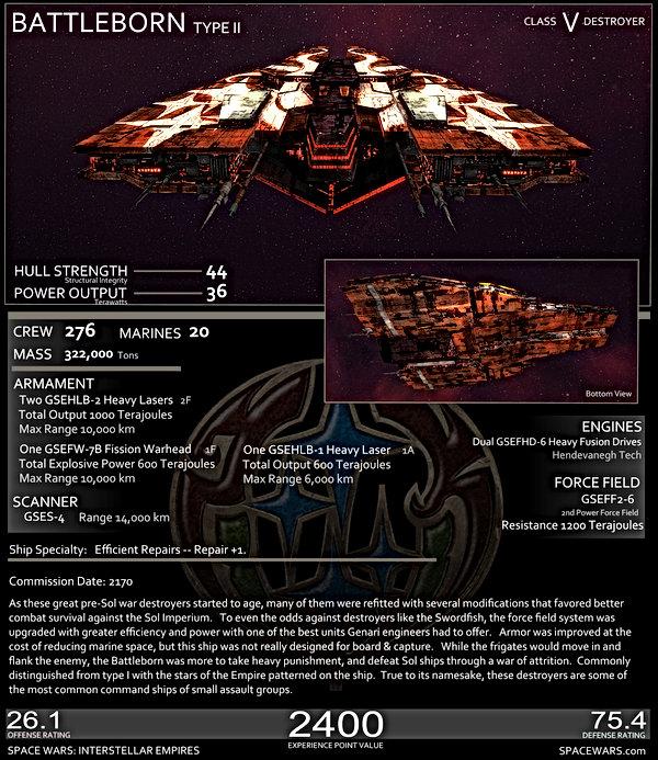 Genari Battleborn Stats