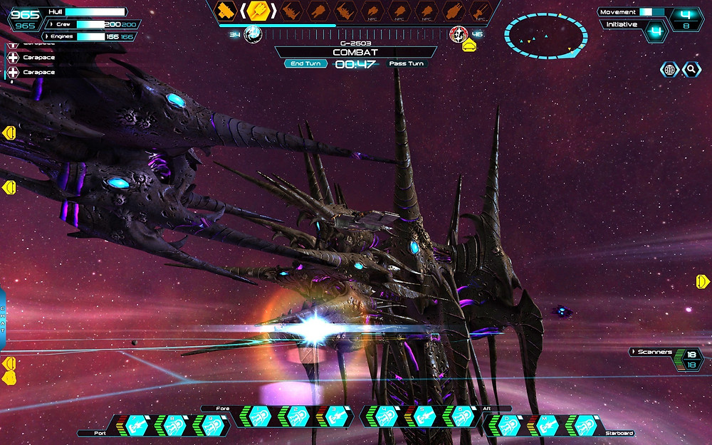 A Sol Gorshkov Frigate gets sandwiched between the Behemoth and Entity.
