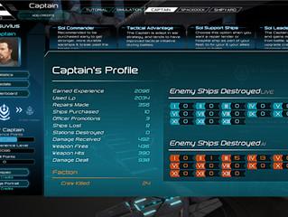 Captain's Statistics