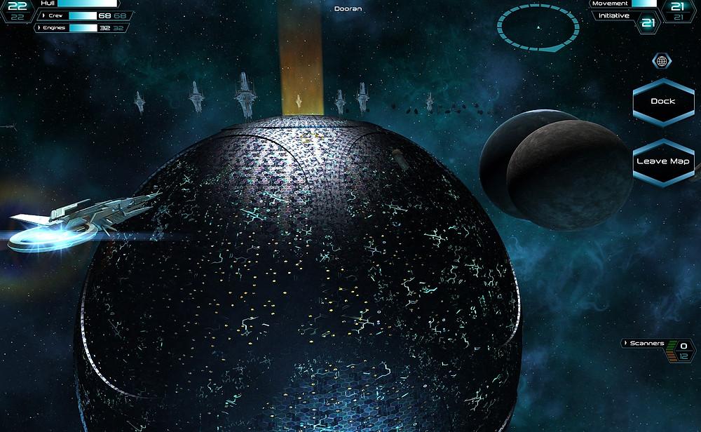 The Ma'Alaketh homeworld Dyson Sphere