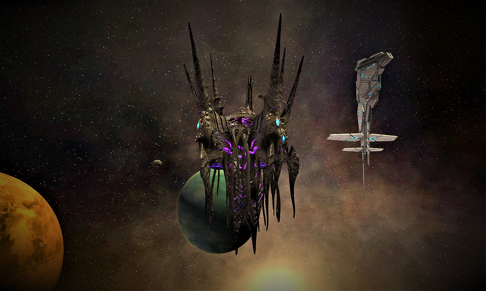 The Hive Queen enters the Sol border, approaching a Greenland monitoring station.