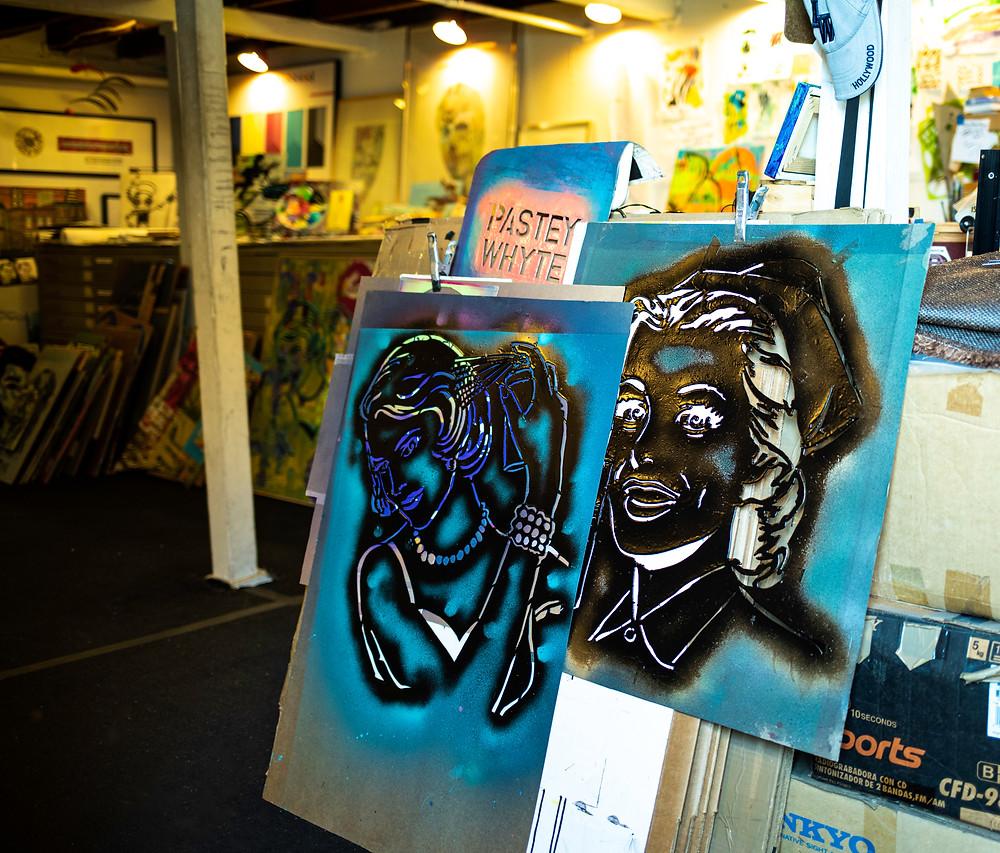 Pastey Whyte's Studio Stencils