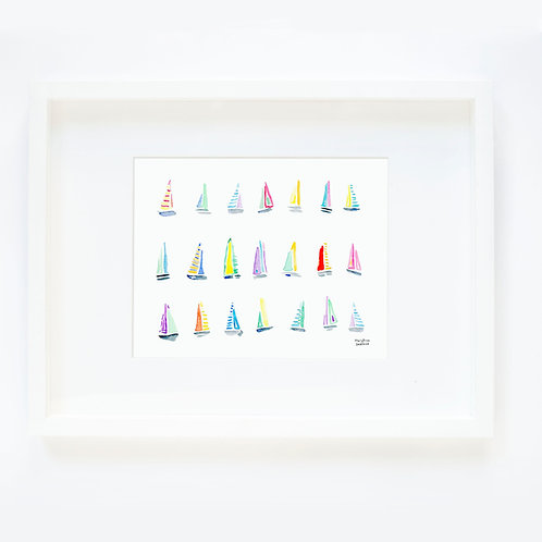Sailboats - Horizontal