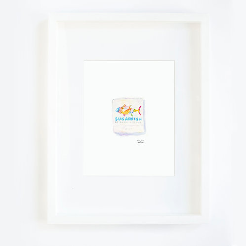 Sugarfish Matchbook