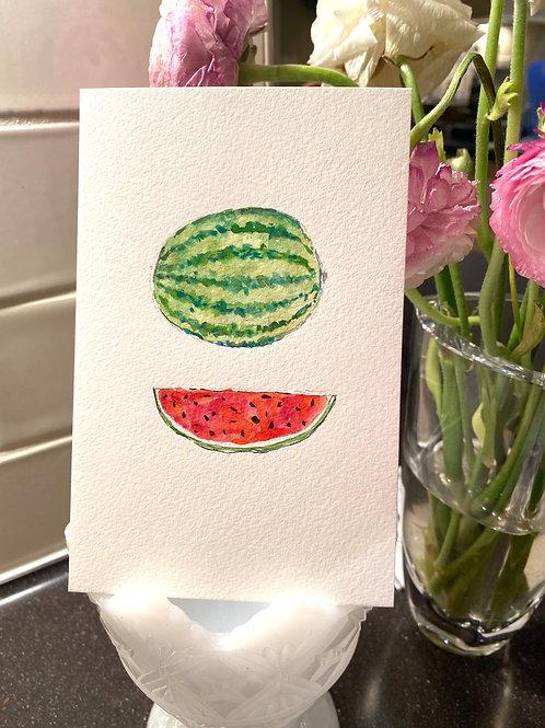 Watermelons - Original Painting