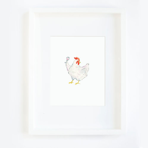 Chicken With Wine