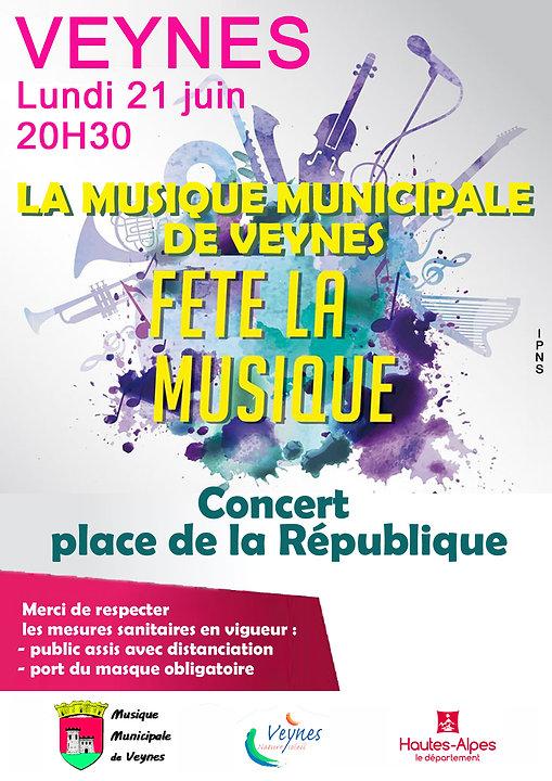 Affiche_Fête de la Musique 2021 - musique de veynes.jpg