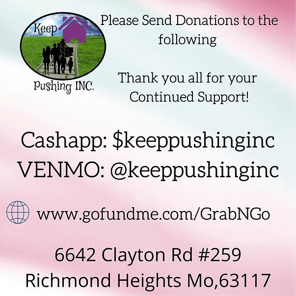 Cashapp_ $keeppushinginc VENMO_ @Shana-J